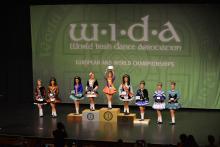 Тренер студии ирландского танца Grand Emerald, чемпионка мира Татьяна